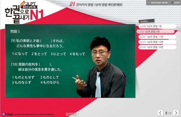 New JLPT(일본어능력시험) 한권으로 끝내기 N1 (2)